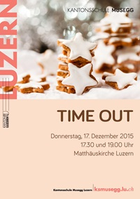 Flyer Timeout-Konzerte 2015